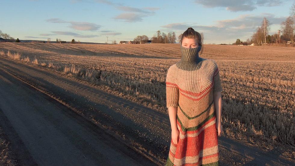 Askews me-kjole i norsk ull