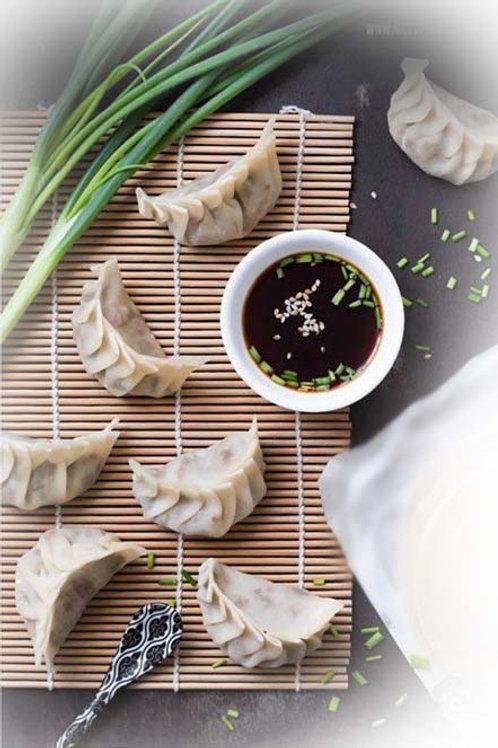 夏綠青蔥豬水餃 (季節限定) (NT$6/顆, 每包30顆)