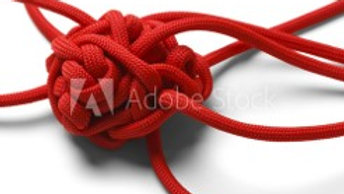 Red Tangled Rope