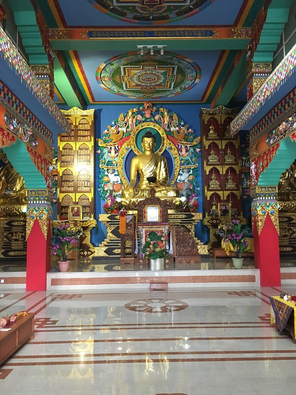 Temple tibétain à Bodhgaya
