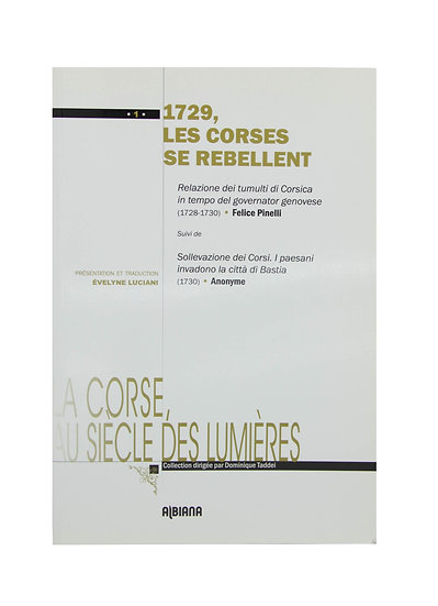 1729, Les Corses se rebellent