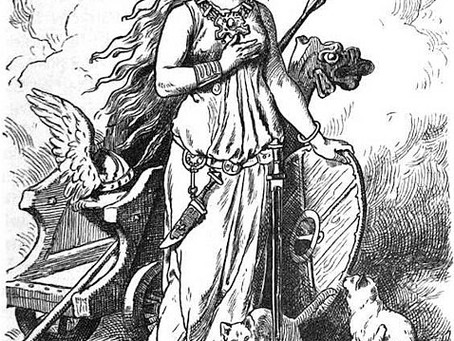Warrior Women Myth & Legend: Freyja