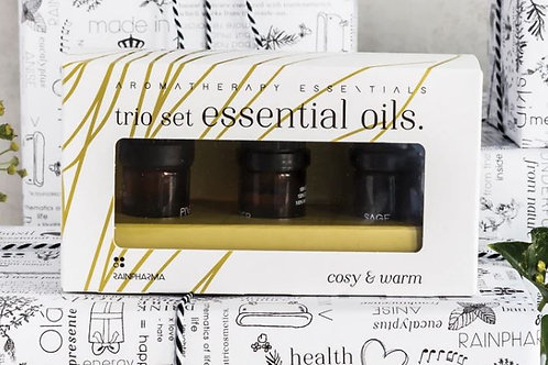 Trio Essential Oils - Cosy & Warm