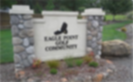 eagle point golf community sign