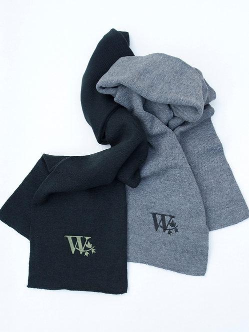 """""""W"""" Knit Scarf"""