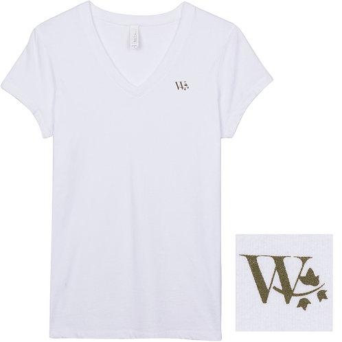 """W"" V-Neck Tee"