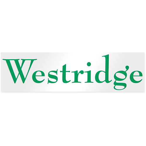 Westridge Sticker