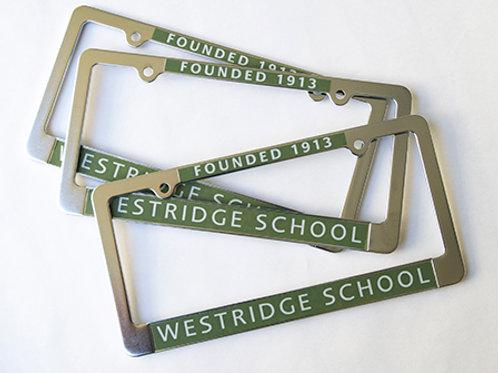 Westridge License Plate Frame