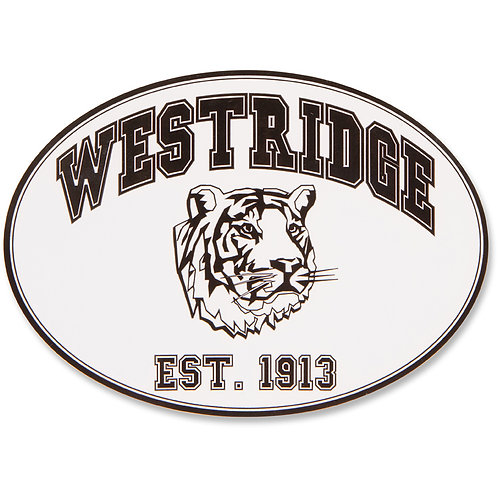 Westridge 1913 Tiger Sticker