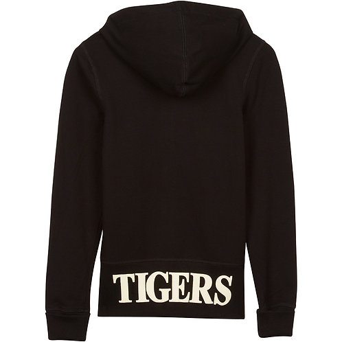 Tigers Women's Long Line Full-Zip Hoodie