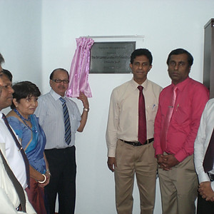 The Opening Ceremony  of the Computer Room