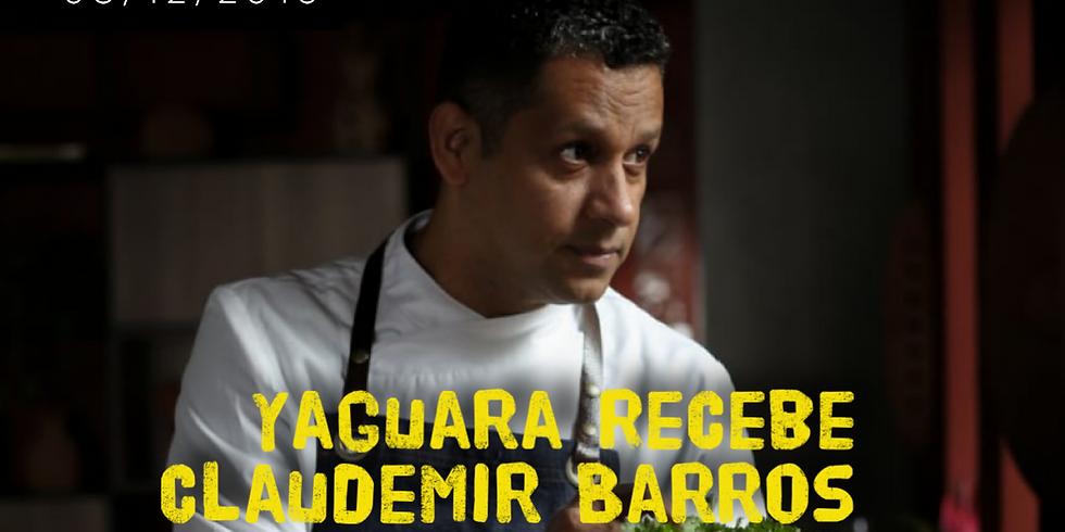 Yaguara Recebe Claudemir Barros