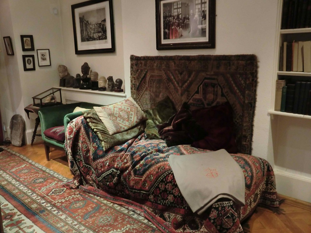 Freud'un Londra'daki divanı