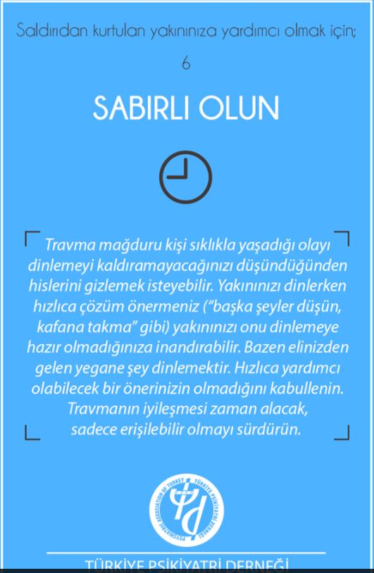 Türkiye Psikiyatri Derneği, 01.07.2016