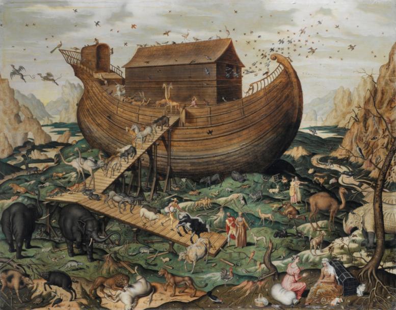 Noah's ark on mount Ararat, Simon de Myle