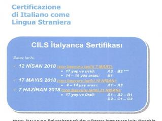CILS - İtalyanca Sertifikasi