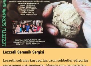 Lezzetli Seramik Sergisi