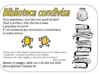 Nuovo appuntamento con la Biblioteca Condivisa