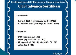 CILS sınavı tarihileri