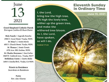Bulletin: June 13, 2021
