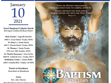Bulletin: January 10, 2021