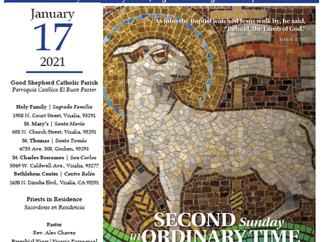 Bulletin: January 17, 2020