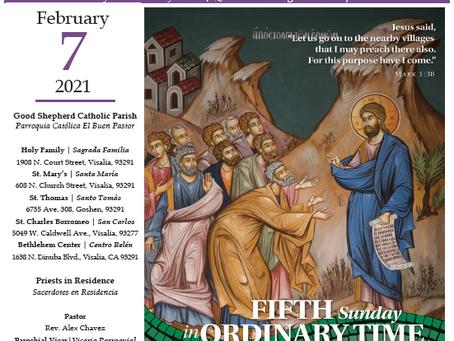 Bulletin: February 7, 2021