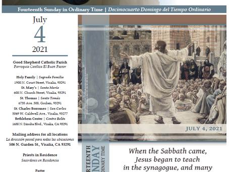 Bulletin: July 4, 2021