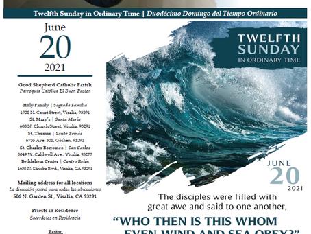 Bulletin: June 20, 2021