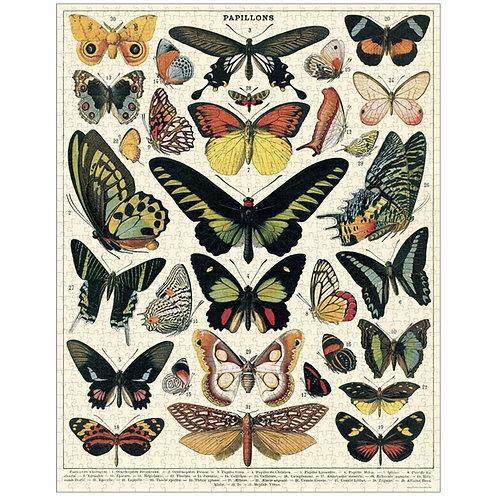 Vintage Butterfly Jigsaw