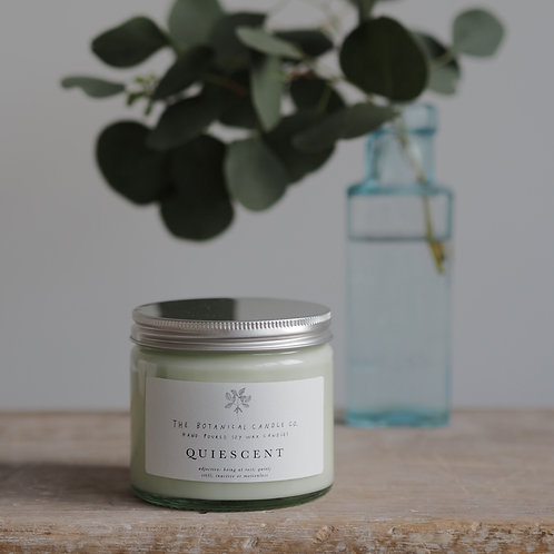 Quiescent Soy Wax Candle 250ml