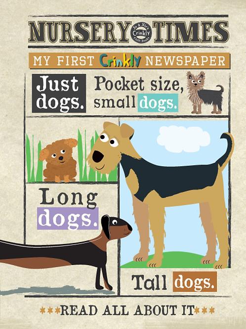 Nursery Times Dogs Newspaper