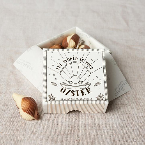 The world is your oyster Chocolate box