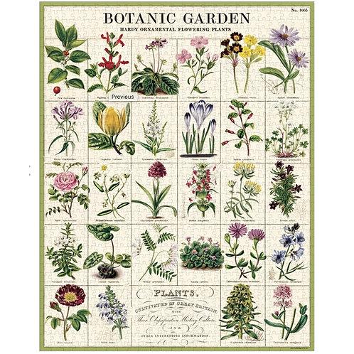 Vintage Botanic Garden Jigsaw