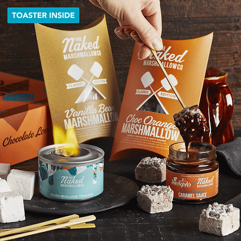The Naked Marshmallow Company Chocolate Lovers Gift Set
