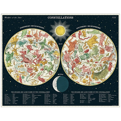Vintage Constellations Jigsaw