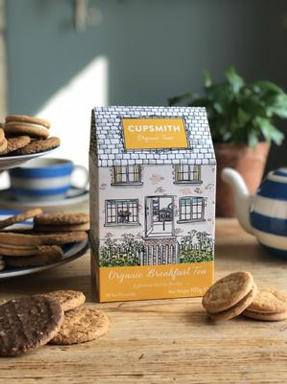 Cupsmith Organic English Breakfast Tea