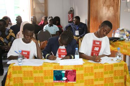 Les braves finalistes du lycée Aimé Césaire