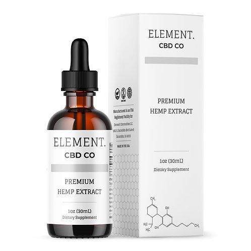 Premium CBD Oil - 1,000mg 1oz Tincture