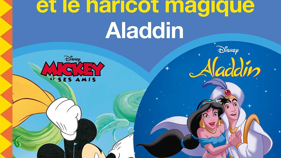 Two-in-one Mickey et le haricot magique/Aladdin