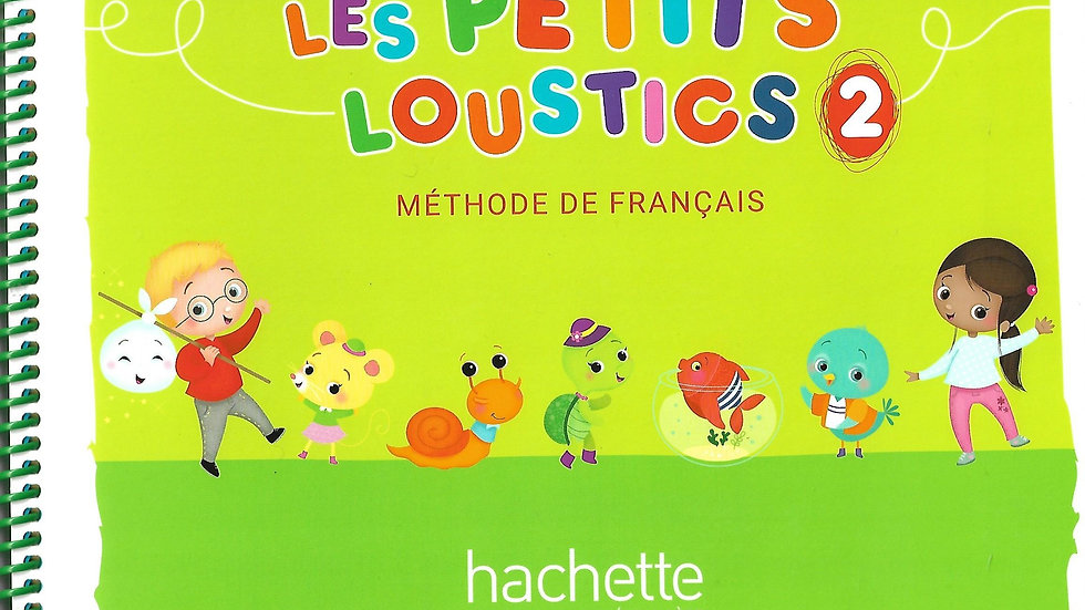 Les petits loustics 2 (Textbook & workbook)