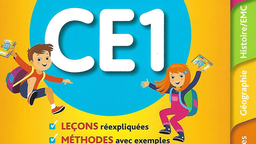 Toutes les matieres CE1 ( All subjects)