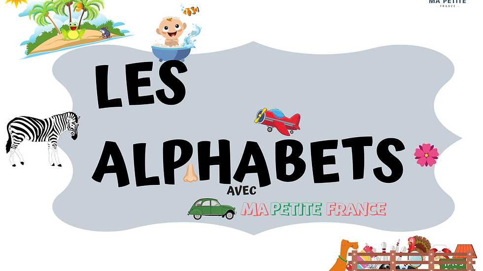 Flashcards- Les Alphabets