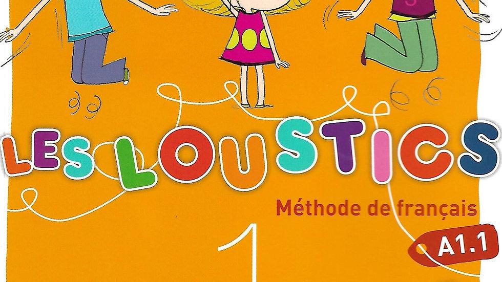 Les Loustics (Text book,Work book& CD)