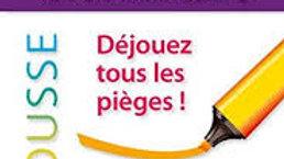 L'Anti-faute de Grammaire-Larousse.