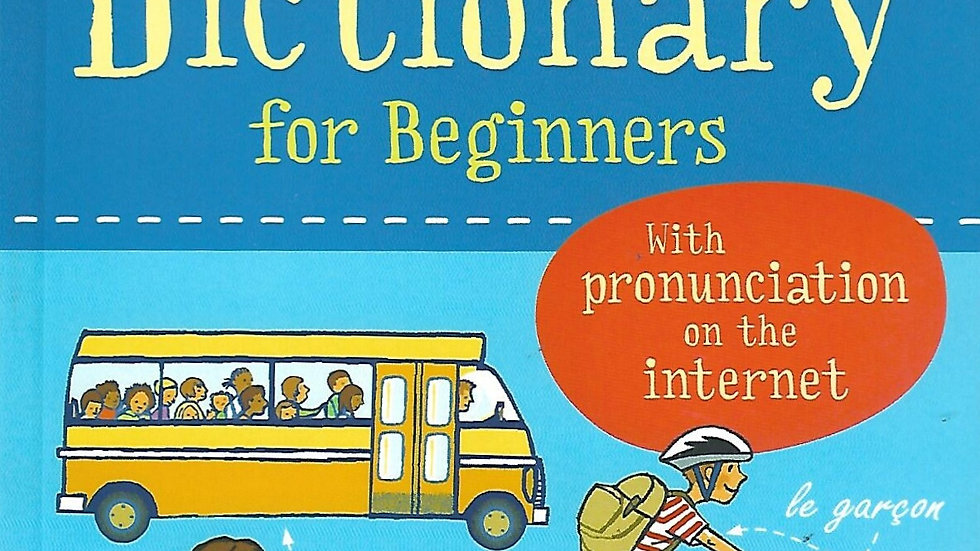 Usborne- French Dictionary for Beginners