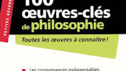 100 oeuvres-clés de philosophie-Nathan.