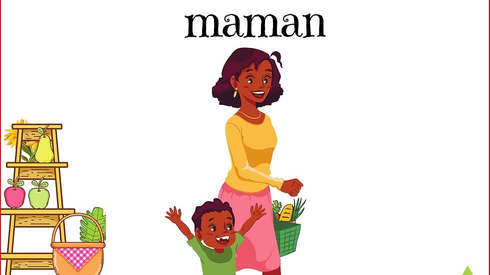 E-Book Au marché avec maman