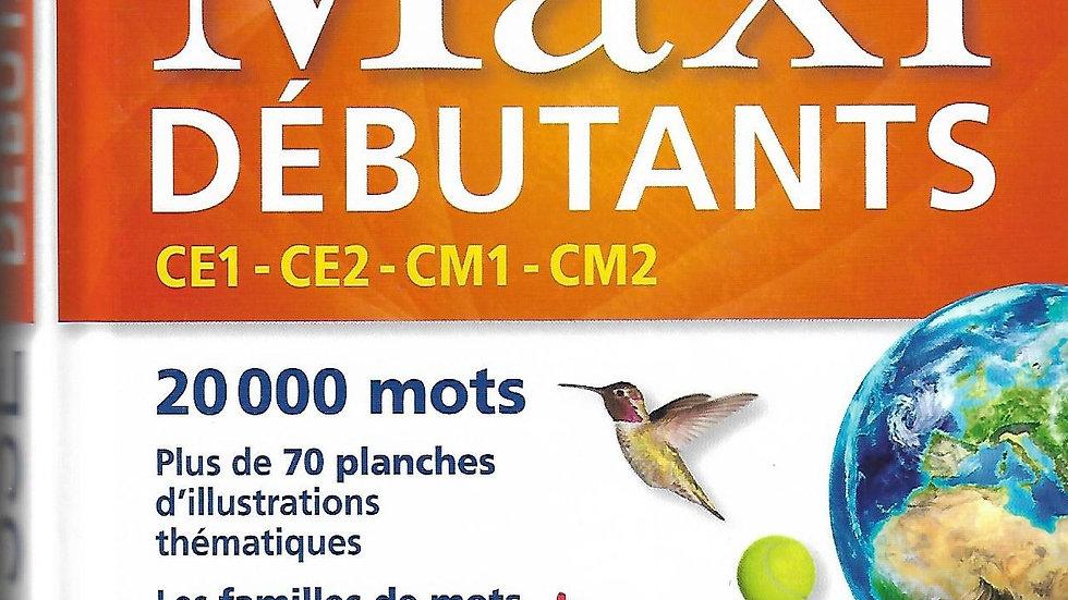 Larousse- Dictionnaire maxi deb