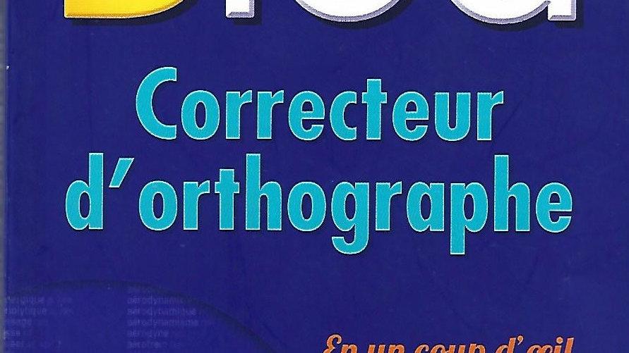Bled- Correcteur D'Orthographe ( Poche )